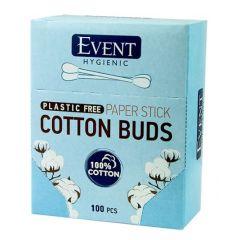 Event Cotton Buds Plastic Free Клечки за уши 100 бр