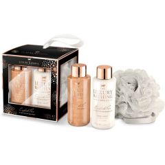 Grace Cole England Luxury Bathing English Pear and Nectarine Blossom Луксозен подаръчен комплект 3 части