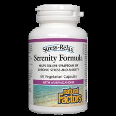 Natural Factors Serenity Formula при хроничен стрес и тревожност 312,5 мг х 60 капсули
