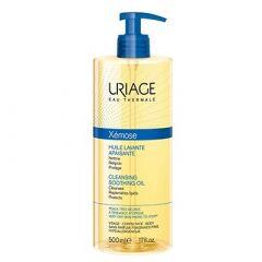 Uriage Xemose Почистващо успокояващо душ-олио за лице и тяло 500 мл