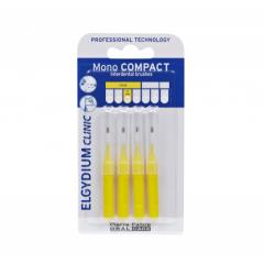 Elgydium Clinic Mono Compact 1 mm интердентални четки моно компакт жълти