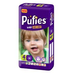 Пелени Pufies Art & Dry 4 VPP 7-18 кг х56 бр