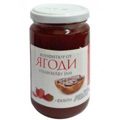 Конфитюр от ягоди с фибри 340 гр