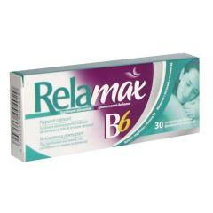 Relamax B6 за нормална функция на нервната система х 30 таблетки PharmaSwiss