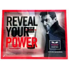 Antonio Banderas Power of Seduction Тоалетна вода за мъже 50 мл + Antonio Banderas Power of Seduction Душ-гел за мъже 75 мл Комплект