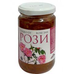Конфитюр от рози с фибри 340 гр