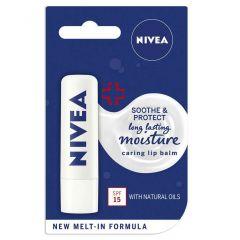 Nivea Защитенбалсам за устни SPF15 4.8 гр