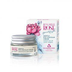 Българска роза Signature Spa Деликатен околоочен крем с розово масло 15 мл