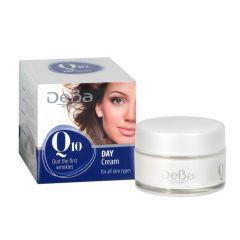 Deva Q10 Дневен крем против бръчки 50 мл