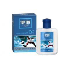 Top Ten for Men Active Sport Балсам за след бръснене за мъже с Q10 100 мл