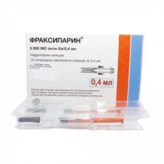 Фраксипарин 0.4 мл х10 GlaxoSmithKline