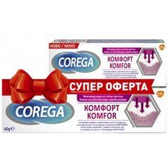 Corega Comfort Фиксиращ гел за зъбни протези 40 гр + 8.5 гр Подарък
