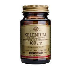 Solgar Selenium Селен за нормална функция на щитовидната жлеза 100 мкг x100 капсули