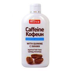 Milva Шампоан за коса с хинин и кофеин 200 мл