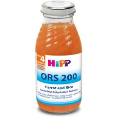 Hipp ORS 200 диетична напитка на базата на моркови и ориз 4М+ 200 мл