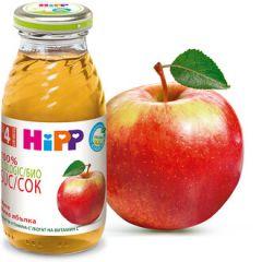 Hipp Био сок мека ябълка 4М+ 200 мл