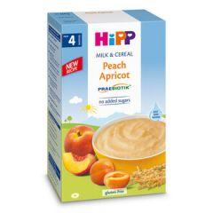Hipp пребиотик инстантна каша праскова и кайсия 4М+ 250 гр
