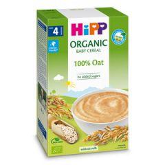 Hipp био безмлечна инстантна каша овес 4М+ 200 гр