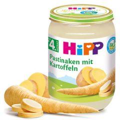 Hipp био пюре пащърнак с картофи 4М+ 190 гр