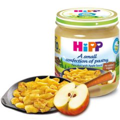Hipp Био палачинки с мус от ябълки 10М+ 200 гр