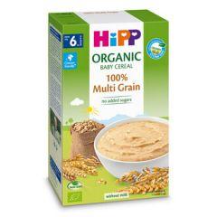 Hipp био безмлечна многозърнеста инстантна каша 6М+ 200 гр