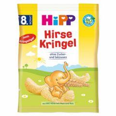 Hipp Hirse Kringel бебешки гризини от просо 8М+ 30 гр