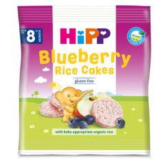 Hipp Blueberry Rice Cakes био оризови бисквити с боровинки 8М+ 30 гр