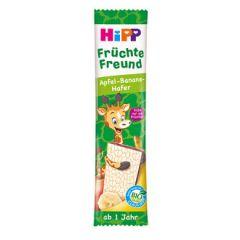 Hipp био суров бар жираф ябълка с банан и овес 23 гр