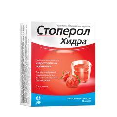 Стоперол Хидра при дехидратация с вкус на ягода x 12 сашета US Pharmacia