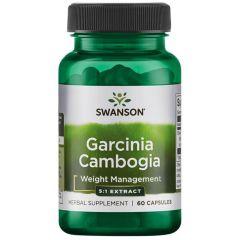Swanson Garcinia Cambogia Гарциния Камбоджа х 60 капсули