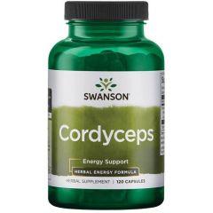 Swanson Cordyceps Кордицепс 600 мг х 120 капсули