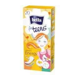 Bella for Teens Panty Energy Ежедневни дамски превръзки за тийнейджърки 20 бр.