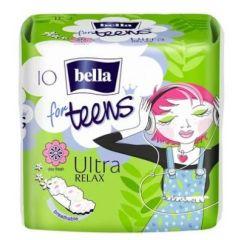 Bella for Teens Ultra Relax Дамски превръзки с крилца за тийнейджърки 10 бр