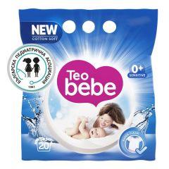 Teo bebe прах за пране с екстракт от бадем 1.5 кг