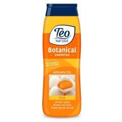 Teo Nature Botanical Shampoo Egg and Argan oil Универсален шампоан с яйце и арганово масло 400 мл