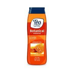 Teo Nature Botanical Shampoo Honey and Argan oil Шампоан за суха коса с мед и арганово масло 400 мл