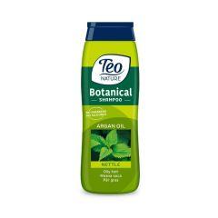 Teo Nature Botanical Shampoo Nettle and Argan oil Шампоан за мазна коса с коприва и арганово масло 400 мл