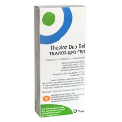 Thealoz Duo Gel При синдром на сухото око 0,4 гр х 30 еднодозови контейнери  Laboratories THEA