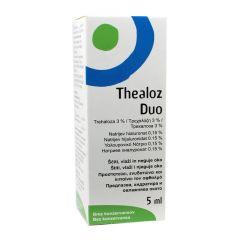 Thealoz Duo Kапки при сухота в очите 5 мл Laboratories THEA