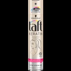 Taft Keratin Лак за коса с течен кератин за ултра силна фиксация 250 мл