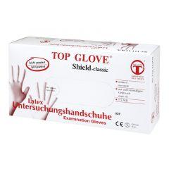 Латексови ръкавици Top Glove с талк L x100 бр