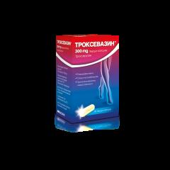 Троксевазин капсули при разширени вени, отоци на крайниците и хронична венозна недостатъчност 300 мг х50 броя Actavis