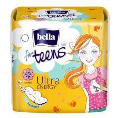 Bella for Teens Ultra Energy Дамски превръзки с крилца за тийнейджърки 10 бр