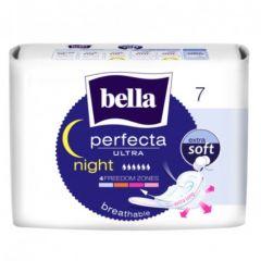 Bella Perfecta Ultra Night Extra Soft Нощни превръзки с крилца 7 бр