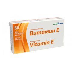 Витамин Е 100мг х 60 капсули PhytoPharma