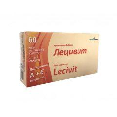 Лецивит Витамини А+Е х 60 капсули PhytoPharma