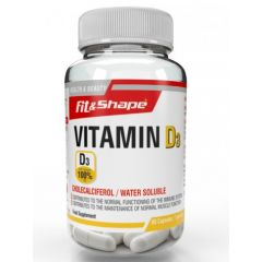 Fit&Shape Vitamin D3 10 мг х60 капсули