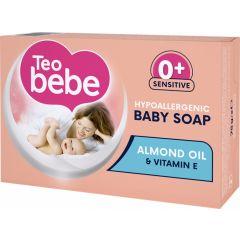 Teo Bebe Бебешки крем-сапун с екстракт от бадем 0+ месеца 75 гр
