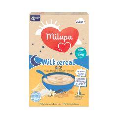 Milupa млечна оризова каша 4М+ 250 гр