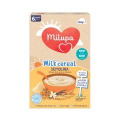 Milupa био млечна каша с пшеничен грис  6М+ 250 гр